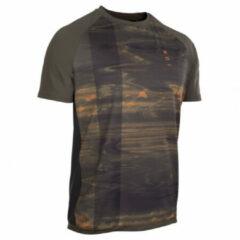 ION - Tee S/S Traze AMP - Fietsshirt maat 52, zwart/bruin