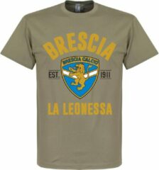 Bruine Retake Brescia Established T-Shirt - Khaki - XXL