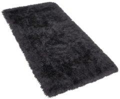 Zwarte Beliani Cide Vloerkleed Polyester 80 X 150 Cm