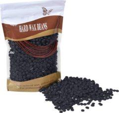 MEGA BEAUTY SHOP® Wax beans 500gr. Black- Hard wax beans- Hard wax beans- Ontharingswax- Harskorrels- Harde hars- Ontharingshars- Harsen- Waxen- Hars parels