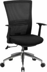Zwarte Amstyle Bureaustoel - Ergonomische Bureaustoel - Bureaustoelen Voor Volwassenen