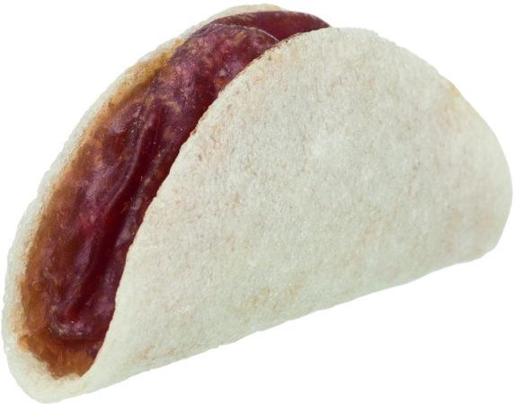 Afbeelding van Trixie Denta Fun Tacos - Hondensnacks - Eend 5.5 cm 100 g