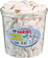 Haribo Witte muizen - 150 stuks
