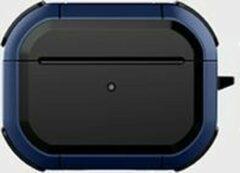 Donkerblauwe WIWU - Airpods Pro hoesje - Airpods Pro Case - Donker Blauw