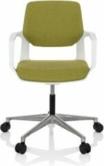 Hjh OFFICE Free White - Thuisgebruik bureaustoel - Groen - Stof