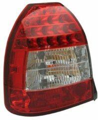 AutoStyle Set LED Achterlichten passend voor Honda Civic HB 3-deurs 1996-2001 - Rood/Helder