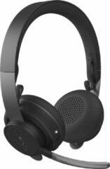 Grijze Logitech - Zone Wireless Teams Bluetooth headset - GRAPHITE