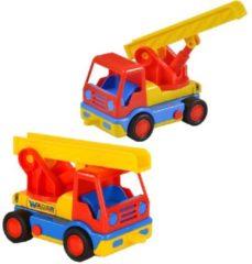 Polesie Toys Polesie Ladderwagen 19 Cm Rood/geel