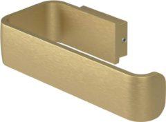 Toiletrolhouder Haceka Aline Gold 15,6x3,5 cm Aluminium Mat Goud
