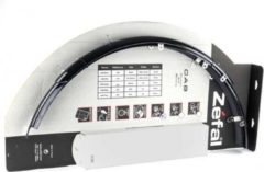 Zefal spatbordset 26 cab ATB PVC zwart