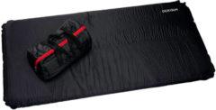 Zwarte Deryan - zelfopblaasbaar Campingbed Matras 60x120 cm 6cm Dik