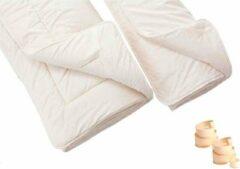 Witte Woolin Dekbed van schapenwol - all seasons 140 x 200 cm - 4 seizoenen - winter - zomer - herfst - lente - bed - slaapkamer
