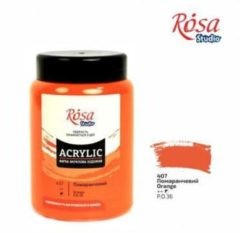 Oranje Rosa Studio Acrylverf 400 ml 407 Orange