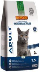 Biofood Ncf Adult - Fit - Kattenvoer - Kip Vis Zalm 1.5 kg