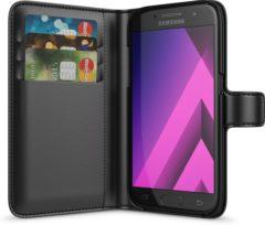 BeHello Samsung Galaxy A3 (2017) Hoesje - Wallet Case Met Ruimte Voor 3 Pasjes Zwart