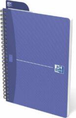 Oxford OFFICE Essentials spiraalblok, 180 bladzijden, ft A5, geruit 5 mm, PAK VAN 5