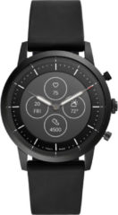 Fossil Collider Hybrid HR FTW7010 - Smartwatch Heren - 42 mm - Zwart