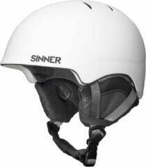 Sinner Lost Trail - Skihelm - Volwassenen - 57-58 cm / M - Wit