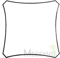 Creme witte Velleman Schaduwdoek - Zonnezeil - Vierkant 3.6 X 3.6M, Kleur: Crème