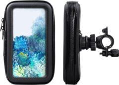 Shop4- Samsung Galaxy S20 Fietshouder Stuur Spatwaterdicht Zwart