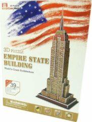 CubicFun Cubic Happy - 3D Puzzel - Empire State Building 3D-puzzel - bouwen - speelgoed