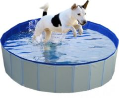 Duvo Hondenzwembad Blauw Ø120x30cm