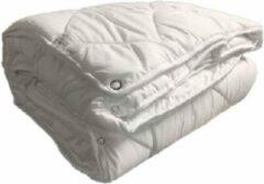Witte Euro Comfort Bedding ECB Vierseizoenendekbed - 220 x 240 cm - Microvezel - Lits-Jumeaux