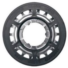 Zilveren Shimano Alfine enkel kettingwiel met kettinggeleider - Cassettes & freewheels