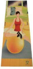 #DoYourYoga - Yogamat - »Yoganidra« - yoga- en gymnastiekmat voor yoga beginners - 183 x 61 x 0,4cm - Yoga Girl