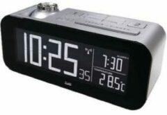 Balance time Balance Zendergestuurde Wekker LCD Zilver/Zwart - Projectieklok En Digitaal - Wekker - Temperatuur