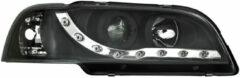 Set koplampen passend voor DRL-Look passend voor Volvo S40/V40 1996-2000 - Zwart incl. Knipperlichte