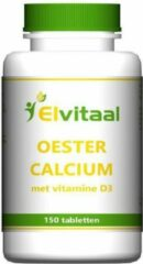 Elvitaal Oestercalcium + Vitamine D3 (150st)