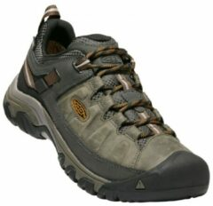 Grijze Keen Targhee III Waterproof Wandelschoenen - Heren - Black Olive/Golden Brown - Maat 47