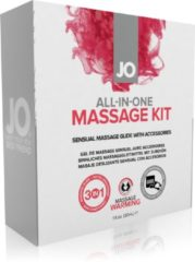 Witte System JO All-In-One Massage Gift Set - Erotische geschenkset