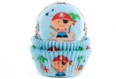 "House of Marie Cupcake cups bakvormen ""Piraat"""
