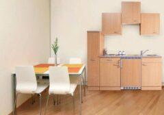Respekta ® keukens Kleine keuken Meister B180cm beuken met apothekerskast beuken