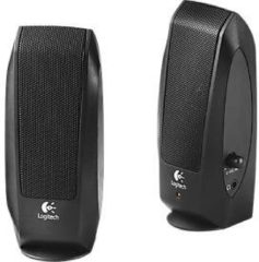 Logitech LGT-S120 - Lautsprecher - 2,3 W Stereo 740 g - Schwarz 980-000010