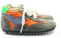 Oranje Shoesme Bp7s002 eerste loop schoen
