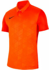 Oranje Polo Shirt Korte Mouw Nike Trophy IV Jersey