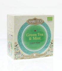 Hari Tea Inner Flow groen Tea & Mint (10st)