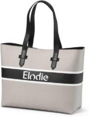 Elodie Luiertas Saffiano Logo Tote