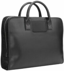 Zwarte Travelteq Briefcase Original black/black Aktetas