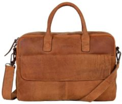 Bruine Laptoptas Dstrct Wall Street Business Laptop Bag 15-17 inch