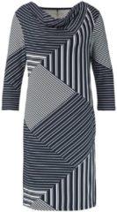 Kleid mit Patchmuster Gerry Weber Blau-Ecru-Weiß
