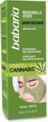 Verde Zuiverend Masker Cannabis Babaria (100 ml)