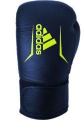 Adidas Speed 175 Bokshandschoenen Unisex Blauw/geel Maat 14