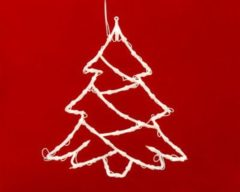Merxx 35er Weihnachtssilhouette, Baum, innen