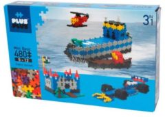 Kontiki Plus-Plus Mini Basic 3-in-1, 480 stuks - Constructie blokken