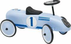 Goki Blauwe Loopauto
