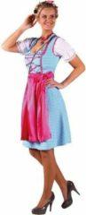 Blauwe Merkloos / Sans marque Dirndl Nina turqoise-pink (mt 40)